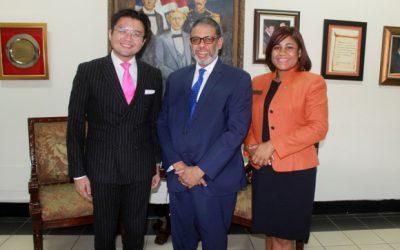 Director general del INPOSDOM recibe visita del presidente de la JCI