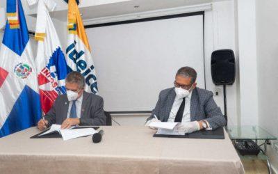 INPOSDOM e IDEICE firman acuerdo de colaboración interinstitucional