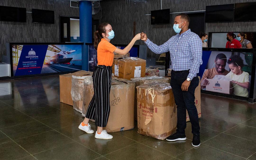 INPOSDOM y Jompéame se unen para intensificar envíos de donaciones hacia Haití luego de terremoto